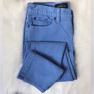 J.Crew Toothpick Ankle Skinny Jeans Garment-Dyed